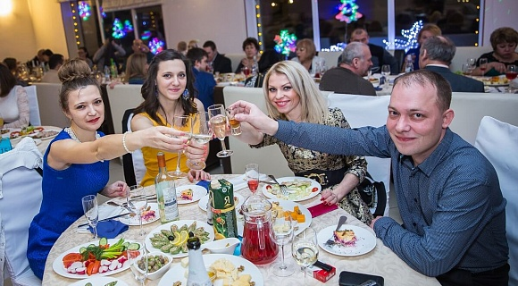 New year 2015 in Hotel Diamant